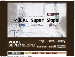VOLKL SUPER SLOPE!